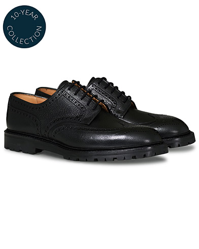 Crockett & Jones x Tärnsjö Garveri Pembroke Scotch Grain Vibram Black Calf