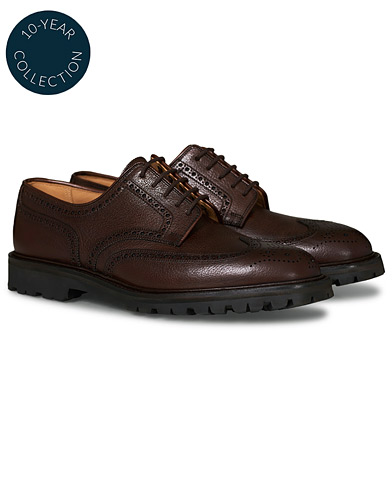 Crockett & Jones x Tärnsjö Garveri Pembroke Scotch Grain Vibram Dark Brown