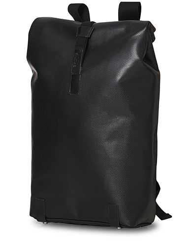Brooks England Pickwick Reflective Leather Backpack Black ryhmässä Asusteet / Laukut / Reput @ Care of Carl (20054610)