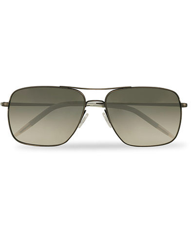 Oliver Peoples Clifton Sunglasses Antique Pewter/Shale Gradient