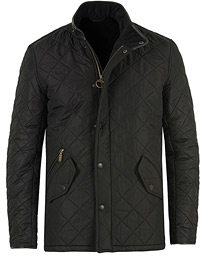 Powell Quilted Jacket Black