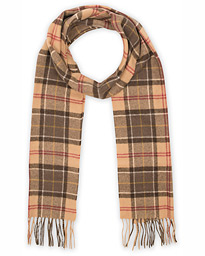 Barbour Lifestyle Tartan Lambswool Scarf Muted