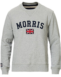 Morris Brown Sweater Grey