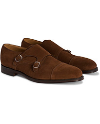 Cannon Monkstrap Polo Suede