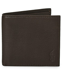 Polo Ralph Lauren Billfold Wallet Brown