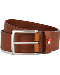 New Denton Belt 4 cm Dark Tan