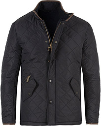 Powell Quilted Jacket Navy