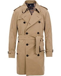 Aquascutum Corby Double Breasted Trenchcoat Camel