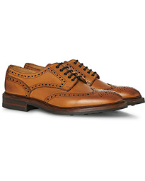 Chester Dainite Brogue Tan Burnished Calf