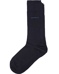 BOSS 2-Pack RS Uni Socks Dark Blue