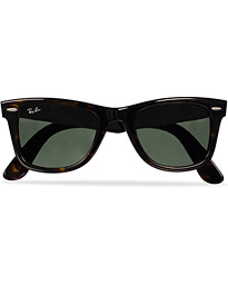Original Wayfarer Sunglasses Tortoise/Crystal Green