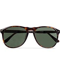 Persol PO9649S Sunglasses Havana/Crystal Green