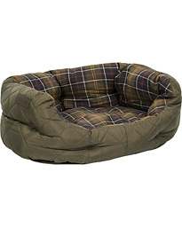 Barbour Heritage Quilted Dog Bed 24' Olive