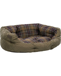 Quilted Dog Bed 30' Olive