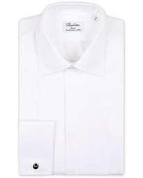 Slimline Smoking Shirt White