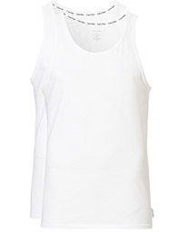 Calvin Klein Cotton Tank Top 2-Pack White
