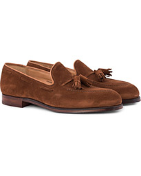 Cavendish Tassel Loafer Polo Suede