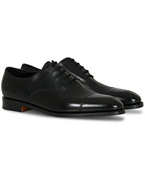 City II Oxford Black Calf