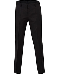 Gibson Regular Fit Wool Trousers Black