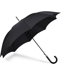 Hardwood Automatic Umbrella Black
