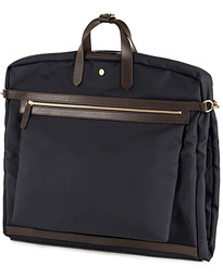M/S Suit Carrier Navy/Dark Brown
