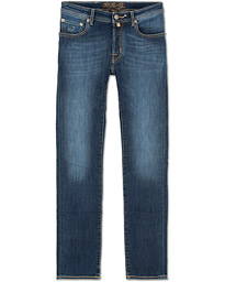 Jacob Cohën 688 Slim Jeans Mid  Blue