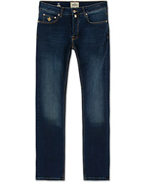 Steve Satin Jeans Dark Wash