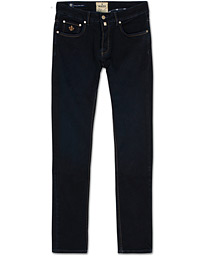 Steve Satin Jeans Dark Blue