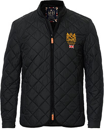 Trenton Quilted Jacket Black
