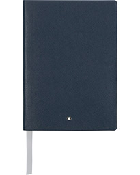 Montblanc 146 Fine Stationery Blank Notebook Indigo