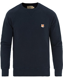 Maison Kitsuné Fox Head Sweatshirt Navy