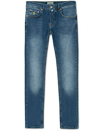 Steeve Satin Stretch Jeans Semi Dark Wash
