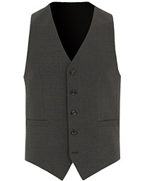 Tiger of Sweden Litt Wool Waistcoat Grey