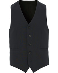 Tiger of Sweden Litt Wool Waistcoat Navy