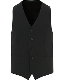 Tiger of Sweden Litt Wool Waistcoat Black