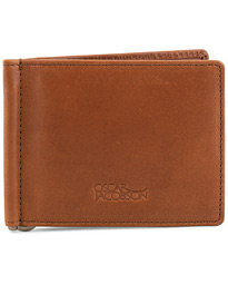 Oscar Jacobson Leather Wallet Midbrown