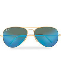 Ray-Ban 0RB3025 Sunglasses Mirror Blue