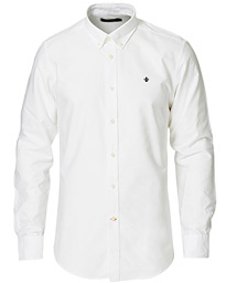Oxford Button Down Cotton Shirt White