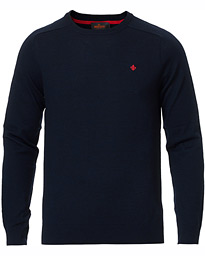 Merino O-Neck Navy