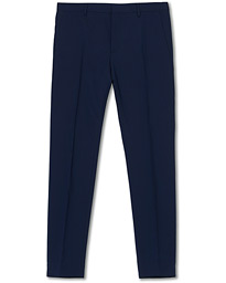 Calvin Klein Wool Stretch Trousers Ink Blue