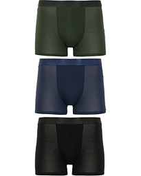 3-Pack Boxer Briefs Black/Army Green/Navy