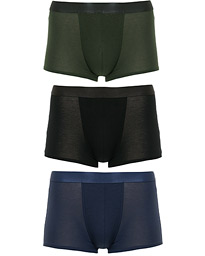3-Pack Boxer Trunk Black/Army Green/Navy