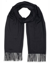 Piacenza Cashmere Cashmere Scarf Navy