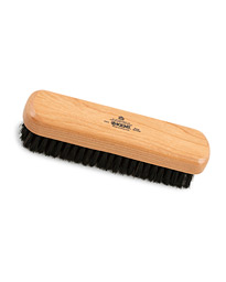 Kent Brushes Small Cherry Wood Travel Clothing Brush