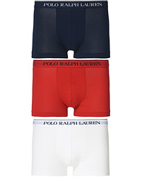 3-Pack Trunk Red/White/Navy