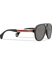 GG0463S Sunglasses Black/White/Grey