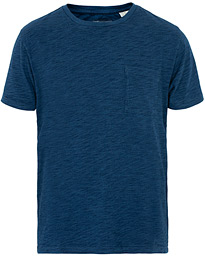 Levi's Made & Crafted Pocket Tee Washed Blue Indigo