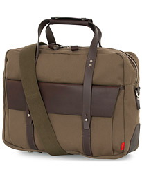 Chapman Bags Wye Work Canvas Briefcase Olive