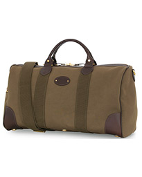 Chapman Bags Flight Holdall Canvas Weekendbag Deep Olive