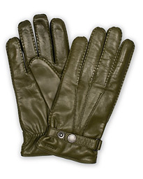 Hestra Jake Wool Lined Buckle Glove Green